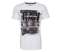 T-Shirt 'Xaix' weiß