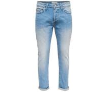 'Weft' Slim Fit Jeans blue denim