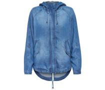 Lässige Jeansjacke blau