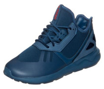 Tubular Runner Sneaker ultramarinblau / petrol