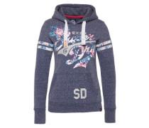 Sweatshirt 'Stacker Jungle' navy / mischfarben