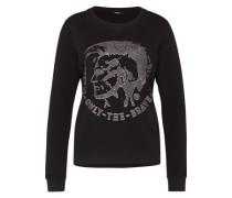 Sweatshirt 'F-Radi-T' grau / schwarz