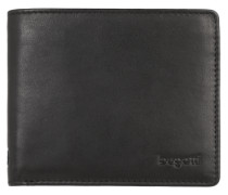 Leder-Portemonnaie 'Primo' schwarz