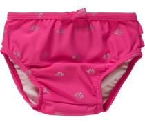 Baby Schwimmwindel für Mädchen UV-Schutz 50+ pink
