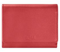 Sofia 106 Geldbörse Leder 13 cm rot