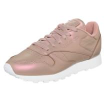 Sneaker mit schimmernder Optik rosa