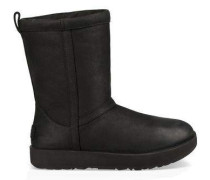Classic Short Leather Waterproof Damen Black