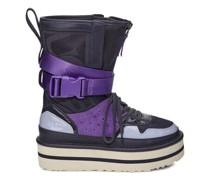 Pop Punk High-Top Sneaker aus Veloursleder