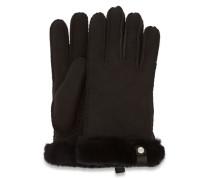 Shorty Handschuhe With eather Trim Handschuhe Stiefe aus eder