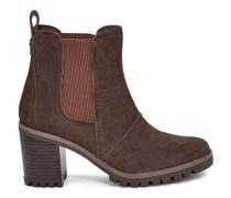Hazel Ankle Stiefel aus Veloursleder