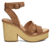 Carine Sandaletten aus Veloursleder