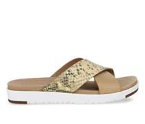 Kari Exotic Sliders Sandalen aus Leder