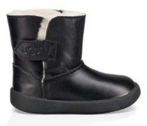 Keelan Leather Kinder Black