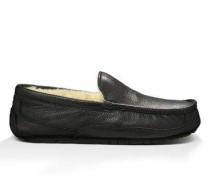 Ascot - Leather Herren Black