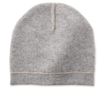 Two Color Beanie Damen Sterling Heather