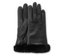 Classic Leather Smart Glove Damen Black