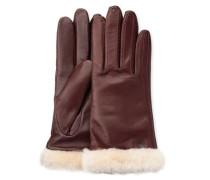 Classic Leather Smart Glove Damen Cordovan