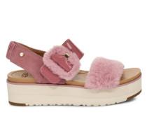Sommerschuhe Le Fluff Sandalen aus Veloursleder