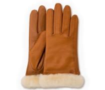 Classic Leather Smart Glove Damen Chestnut