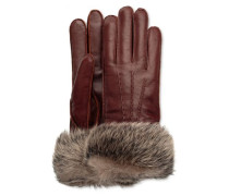 3 Point Long Toscana Smart Glove Damen Cordovan