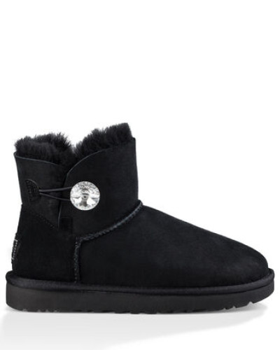 Mini Bailey Button Bling Classic Stiefel in Schwarz
