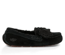 Ansley Fur Bow Damen Black