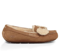 Ansley Fur Bow Damen Chestnut