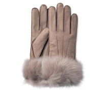 3 Point Long Toscana Smart Glove Damen Stormy Grey