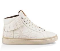 Cali Sneaker High Fringe Palms Herren White