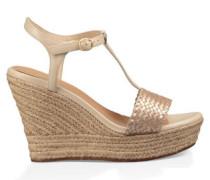 Fitchie II Sandalen aus Leder in Soft Gold