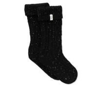 Raana Rain Boot Sock Kinder Black 6/8 Jahre