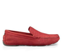 Henrick Stripe Perf Herren Samba Red