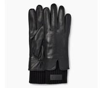 eather Tech & Knit Cuff Handschuhe aus eder