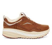 CA805 Spill Seam Sneaker aus Veloursleder