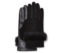Suede Leather And Schafsleder-Handschuhe aus Veloursleder