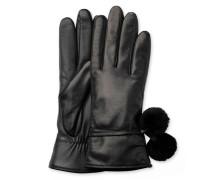 Brita Smart Glove With Poms Damen Black