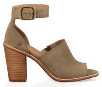 Aja Sandal Sandalen aus Veloursleder