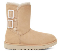 Bailey Fashion Buckle Stiefel aus Veloursleder