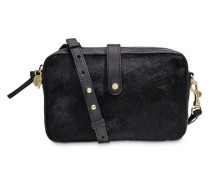Olive Crossbody Cow Hair Damen Black