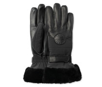 Performance Smart Glove With Fur Damen Black L/XL