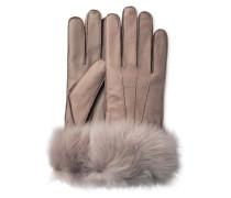 3 Point Long Toscana Smart Glove Damen Stormy Grey