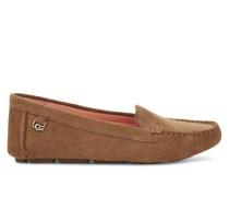 Flores Loafers aus Veloursleder