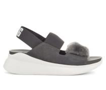 Sommerschuhe Silverlake Sandalen aus Veloursleder
