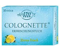 """Kölnisch Wasser Colognette Tücher """"Citrus"""" 10er"""