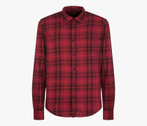 HUNTING FLANNEL HEMD