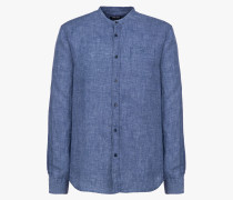 LINEN COREAN COLLAR HEMD