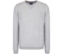 Wool Cashmere Cotton Crew Neck