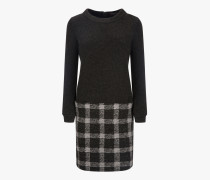 W'S Wool Pattern Fleece Dress