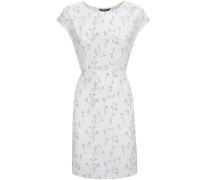 W'S Printed Fluid Crepe Dress