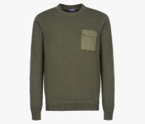MILITARY COTTON CREW NECK